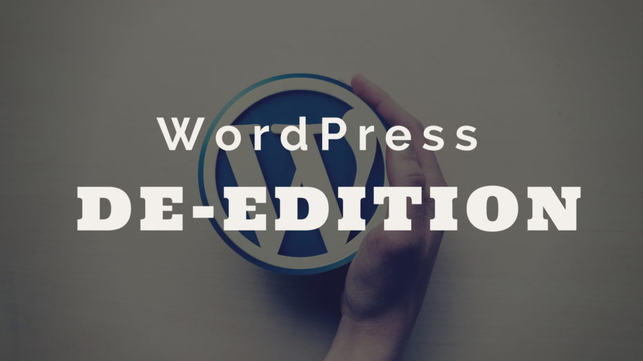 WordPress-DE-Edition