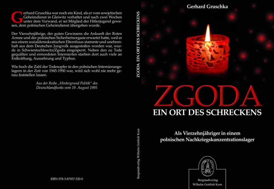Buchcover ZGODA Ein Ort des Schreckens Gerhard Gruschka Bergstadtverlag Wilhelm Gottlieb Korn