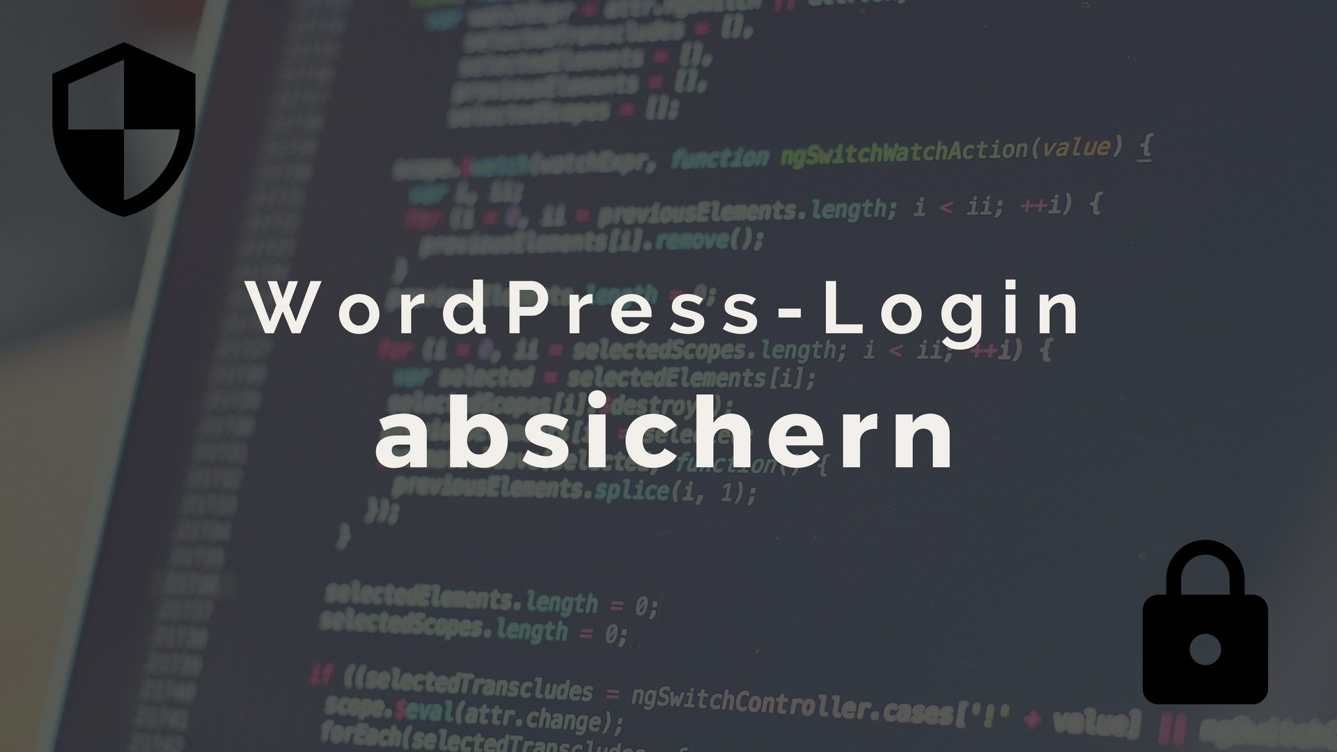 WordPress Login absichern