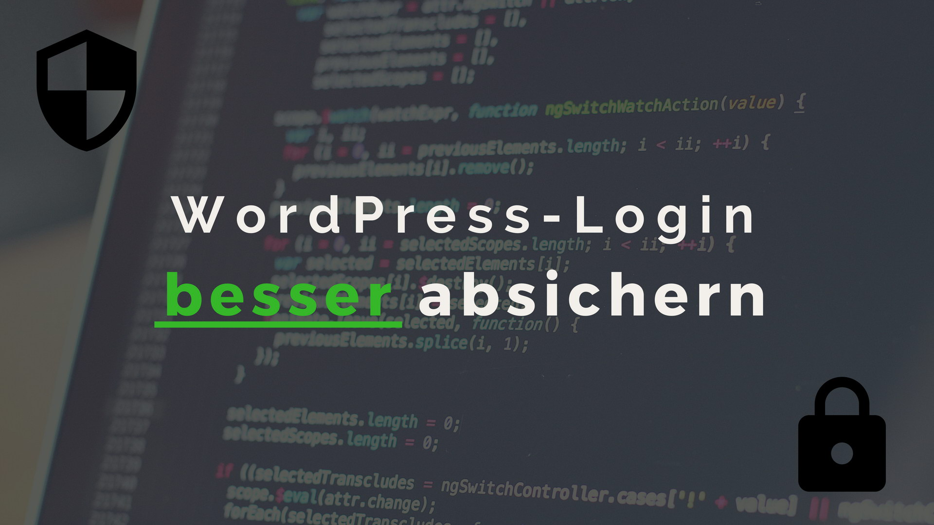 WordPress Login besser absichern