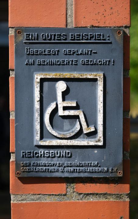 Reichsbund der Kriegsopfer, Behinderten, Sozialrentner u. Hinterbliebenen e.V. heute der Sozialverband Deutschland (SoVD)